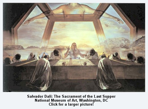 Salvador Dali Last Supper